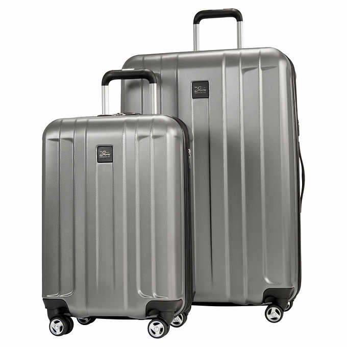 73f64a019e83 Skyway Whittier 2-Piece Expandable Hardside Spinner Luggage Set