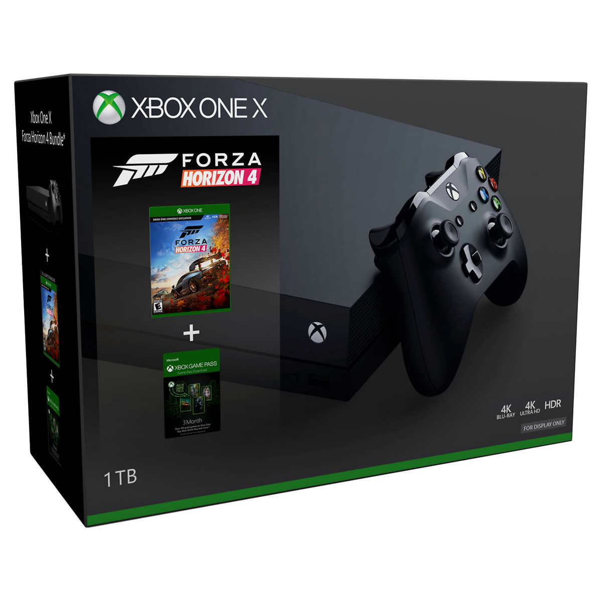 XBOX One X 1TB Forza Bundle with 3-Month Game Pass