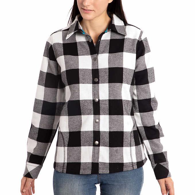 c0f313d9e0 Orvis Ladies  Flannel Shirt Jacket. black 1 black 1
