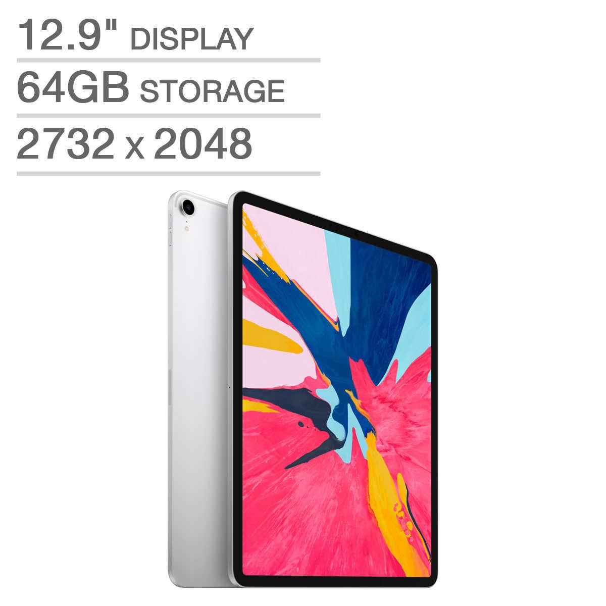 Apple iPad Pro A12X Bionic Chip 64GB - Silver