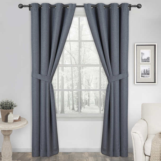 Silk Home Harmony Blackout Curtains 2 Pack