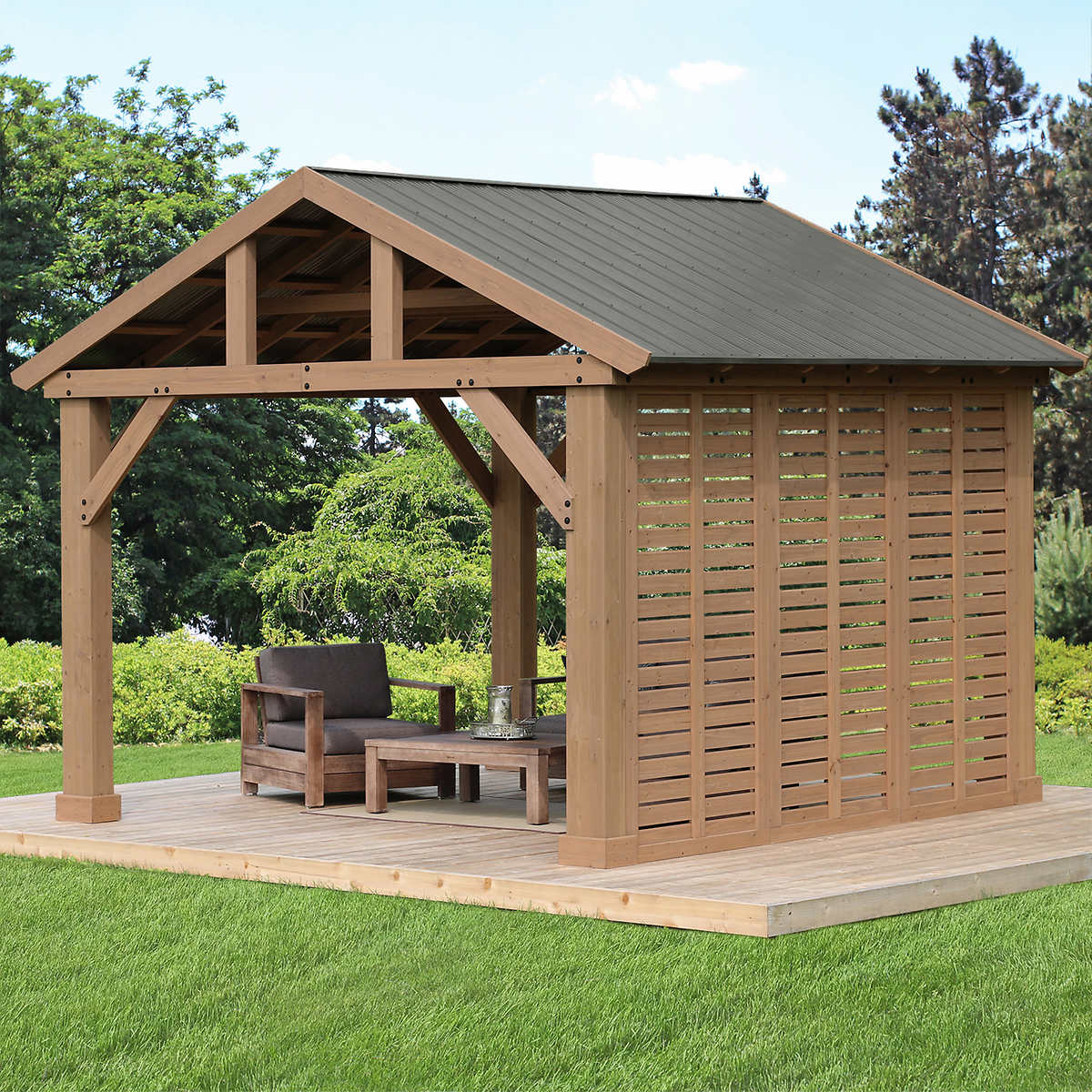 12 Pavilion Privacy Wall