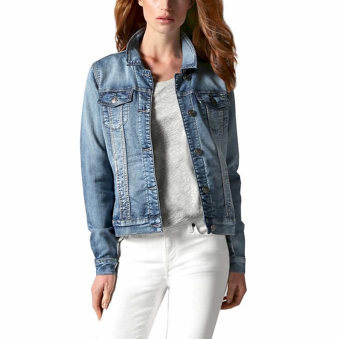 987fd762993 Buffalo Ladies  Knit Denim Jacket. blue 1 blue 1