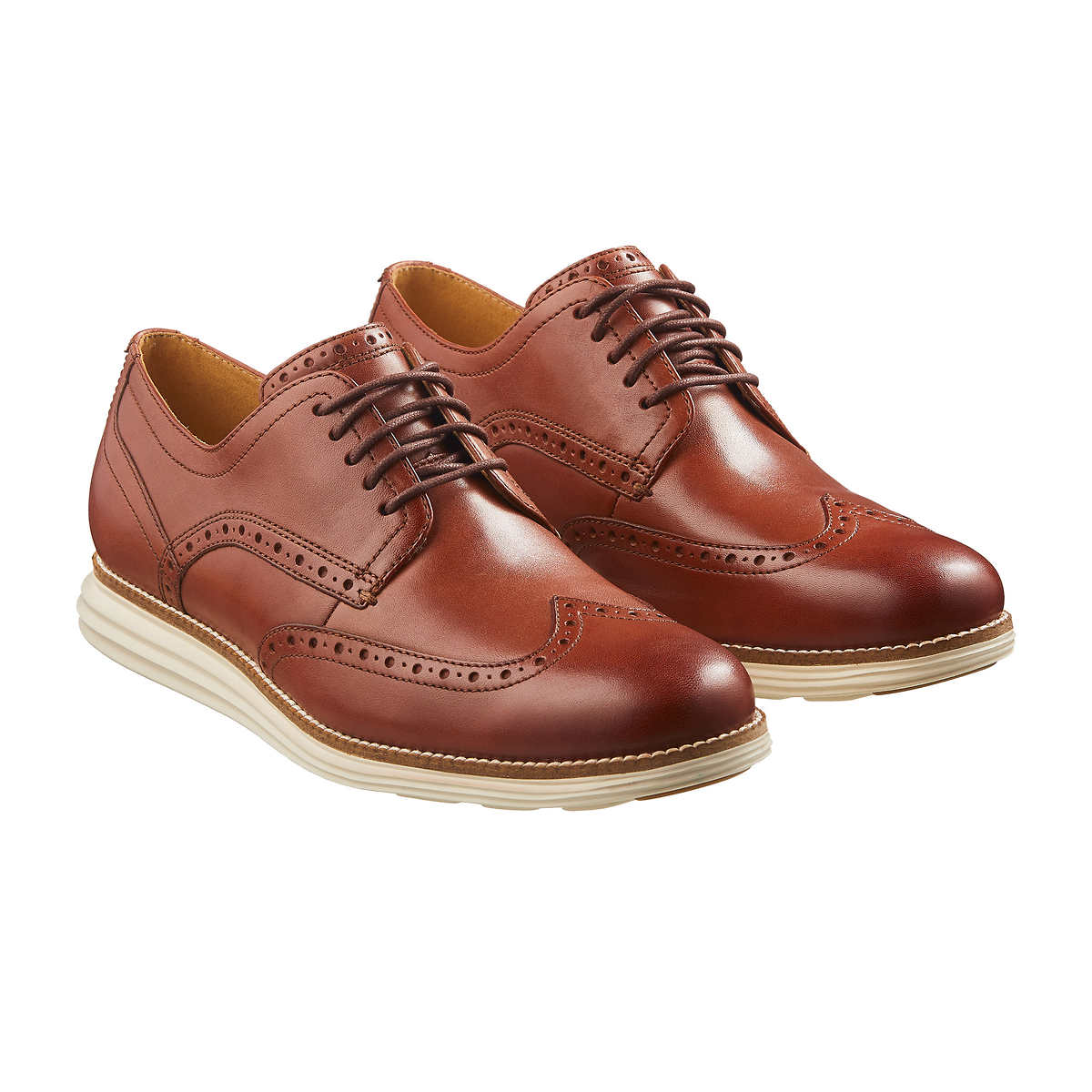 c3dfabfd601ca Cole Haan Men s Original Grand Wingtip Oxford Shoe. brown 1 brown 1