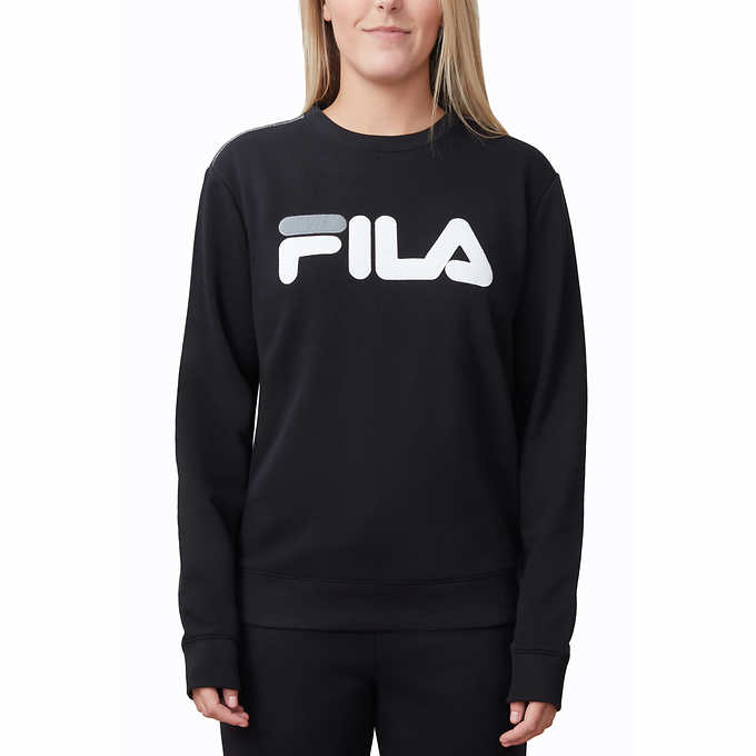 d0182b17a5bf Fila Ladies  French Terry Crewneck