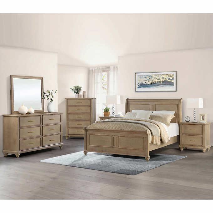Caymen 5-piece King Bedroom Set