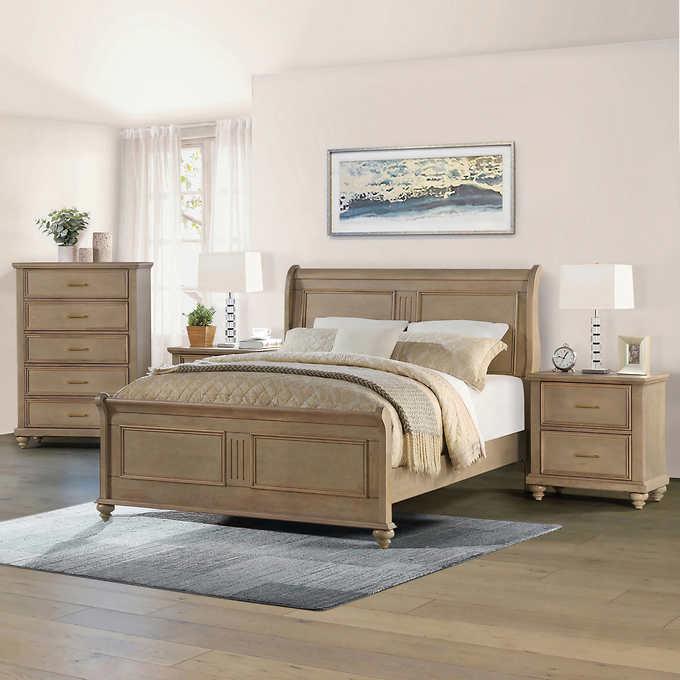 Caymen 4-piece Queen Bedroom Set