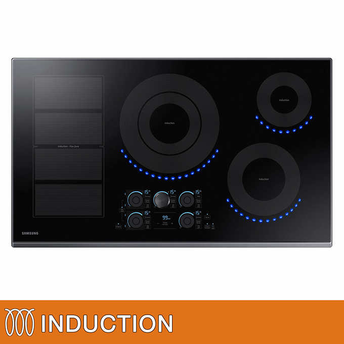 Induction Electric Cooktop With Wifi Connectivity Blackstainlesssteel 1