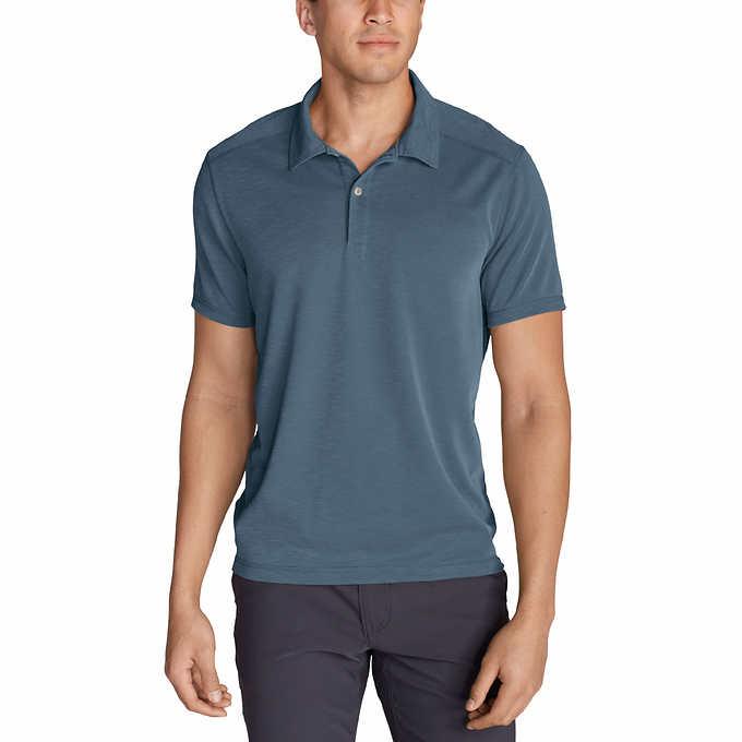36e182858 Eddie Bauer Men s Short Sleeve Polo. blue 1 blue 1