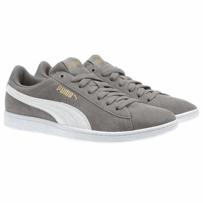 a21497a4dc0 PUMA Ladies  Vikky Suede Shoe