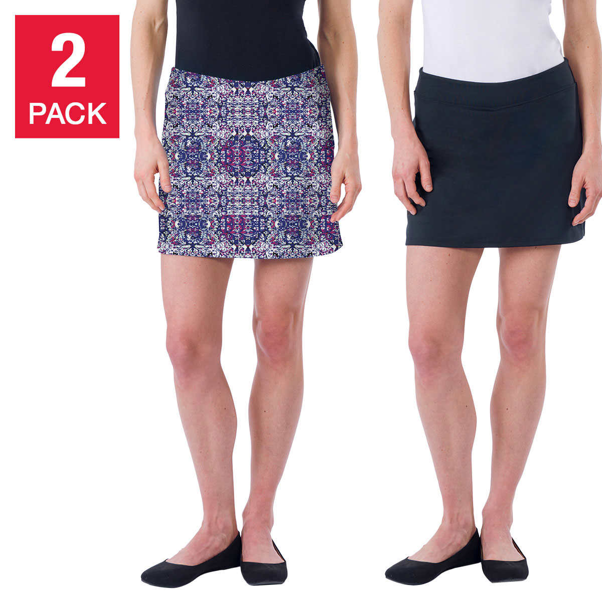 4ed0a40dd8 Tranquility by Colorado Clothing Ladies' Skort, 2-pack