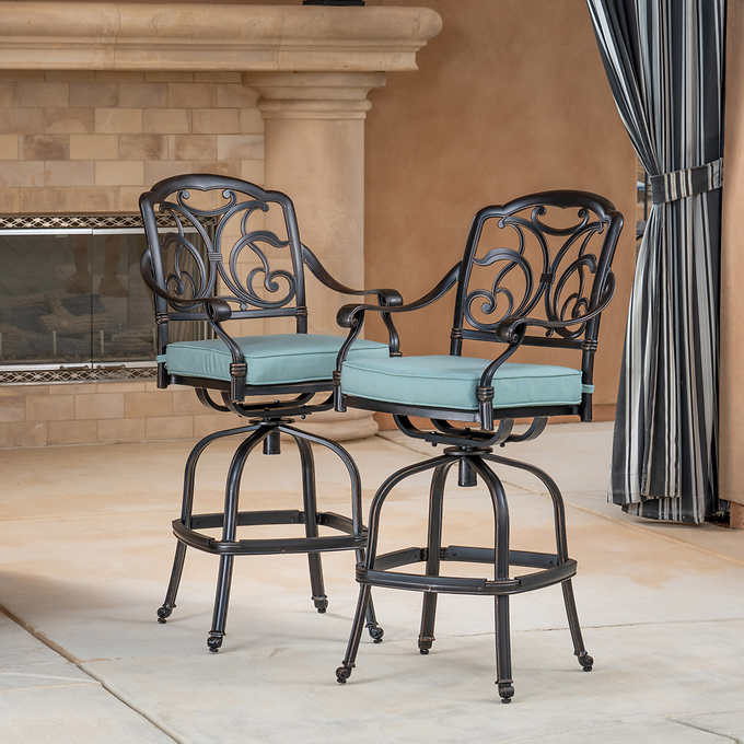 Surprising San Paulo Patio Bar Stool 2 Pack Gmtry Best Dining Table And Chair Ideas Images Gmtryco