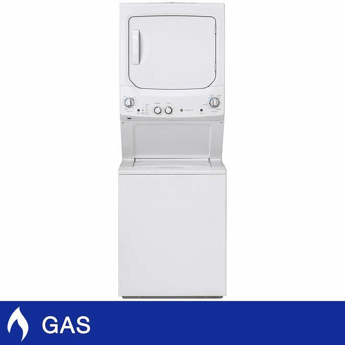 Ge Appliance Warranty >> Ge Unitized Spacemaker 3 8cuft Washer And 5 9cuft Gas Dryer