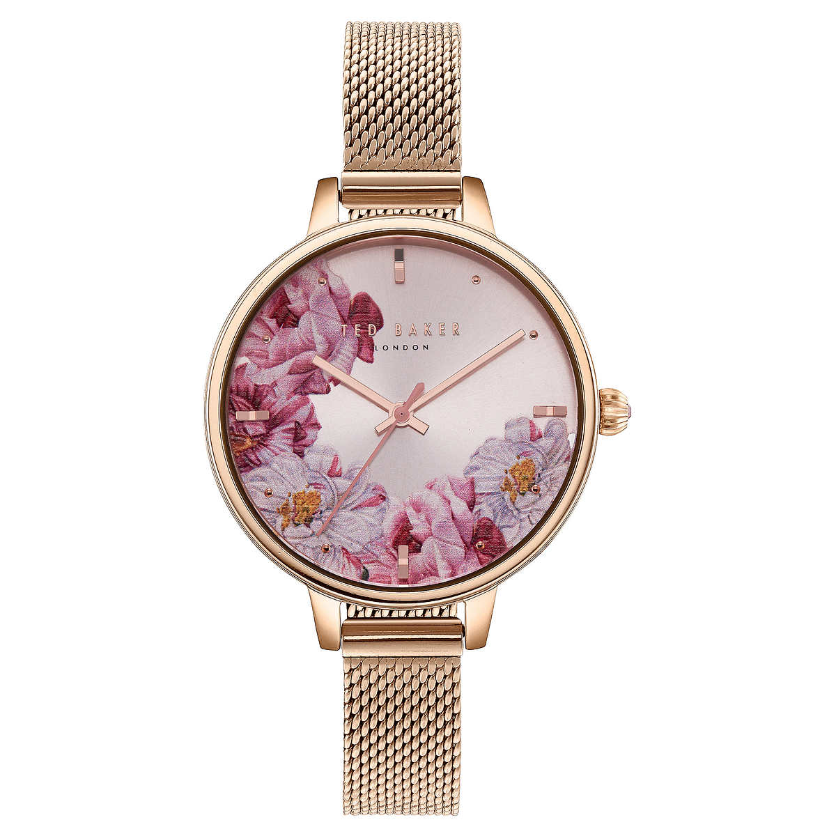 8942a72c3eb Ted Baker Rose Gold-Tone Ladies Watch Set. 1 1