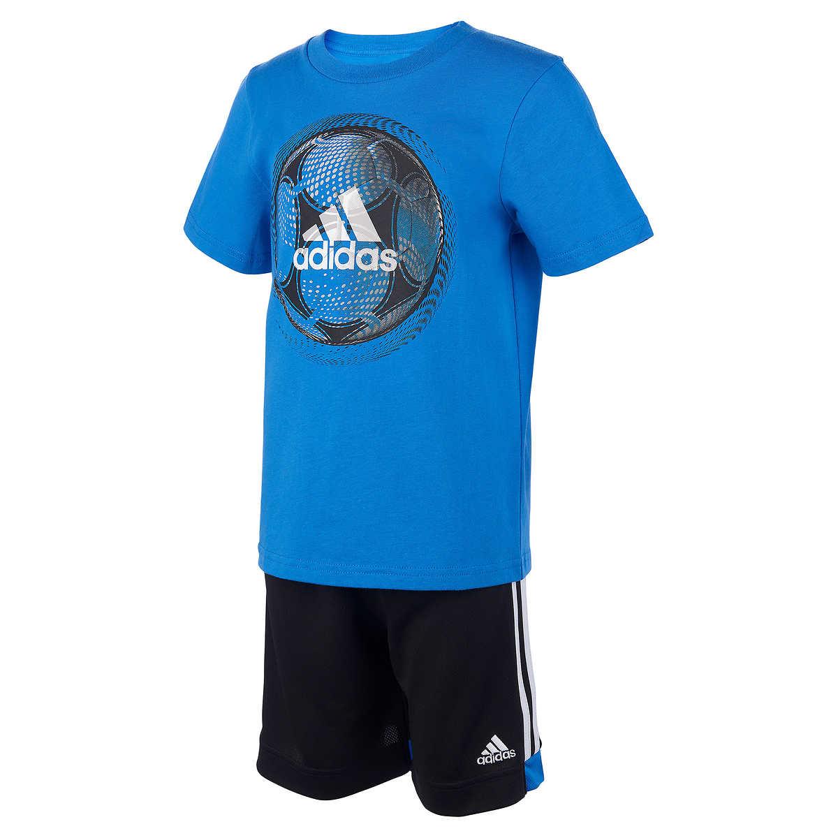 b513cfbd50e1 Adidas Youth 2-piece Short Set