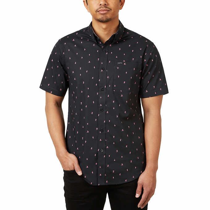 03093300 Matix Men's Short Sleeve Woven Shirt