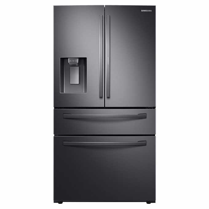 Samsung 22cuft Counter Depth French Door Refrigerator With Filtered Ice Maker