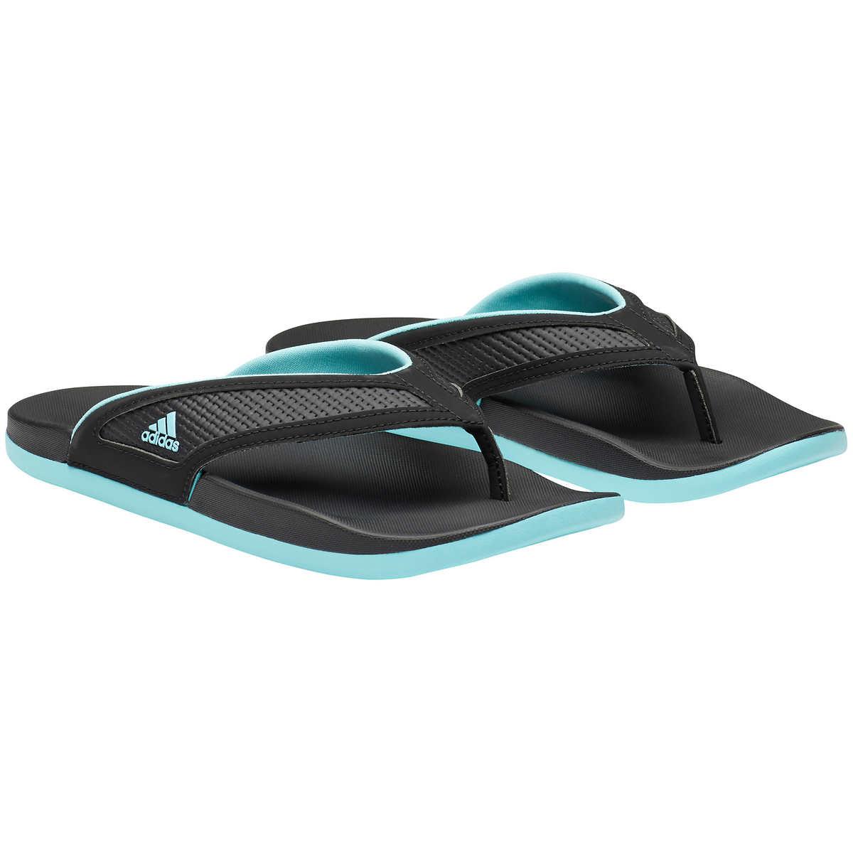 43aadfbe1 ... adidas Ladies' Flip Flop Sandal. black 1 black 1