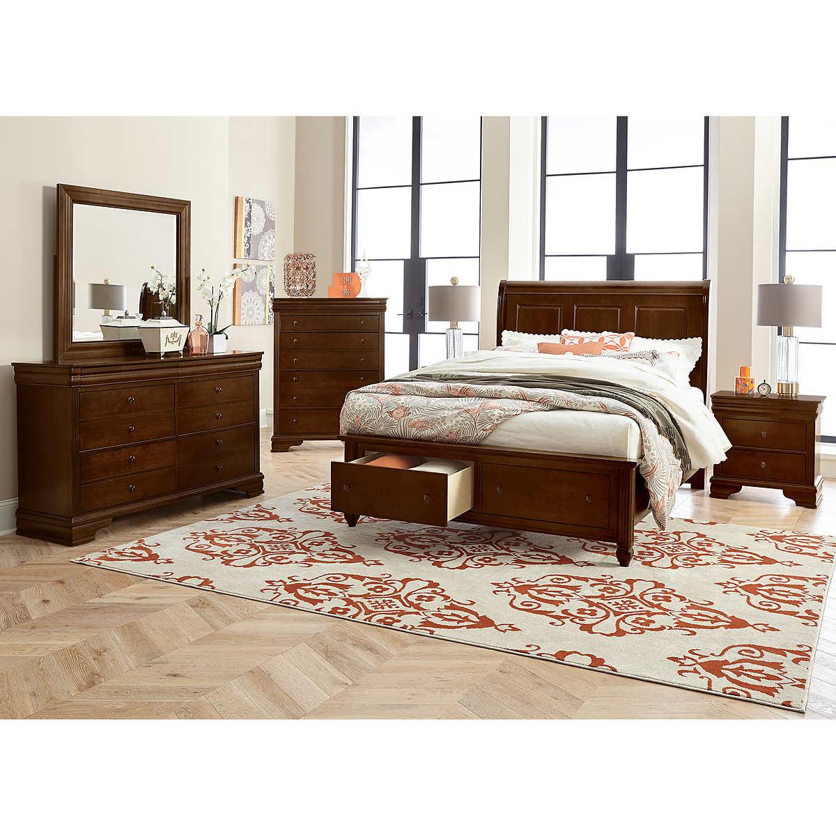 Charleston 6-piece Queen Storage Bedroom Set