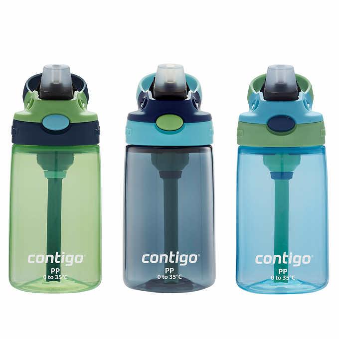 a7d8bd54dd ... Contigo Kids Autospout Water Bottle, 3-piece. blue 1 blue 1