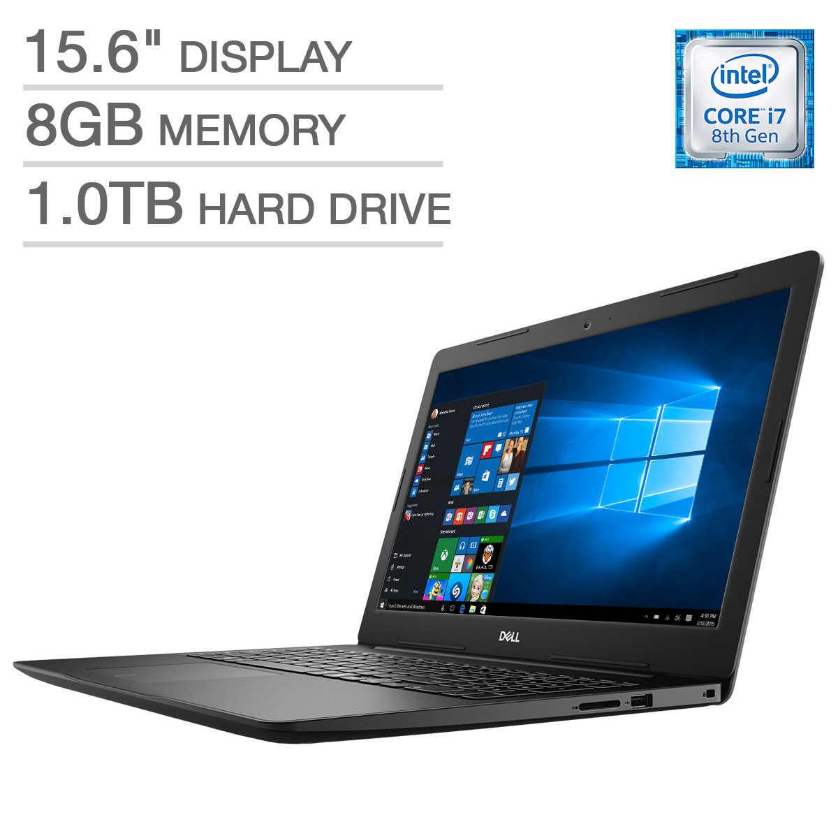 Dell Inspiron 15 3000 Laptop - Intel Core i7