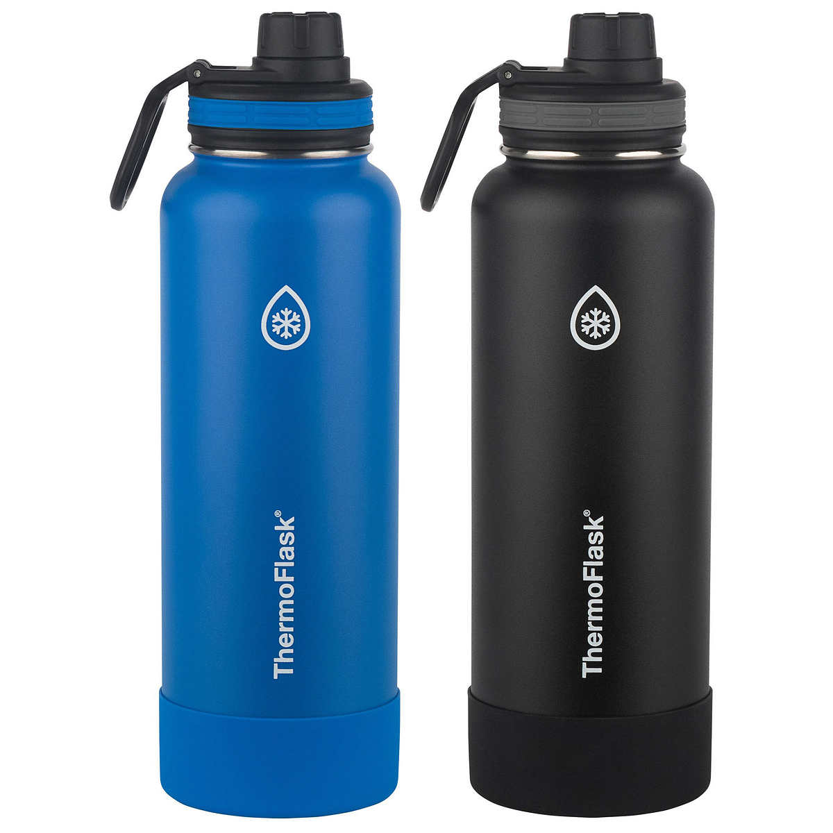 339c7ff5401 Thermoflask Stainless Steel 40 oz Water Bottle, 2-piece Set