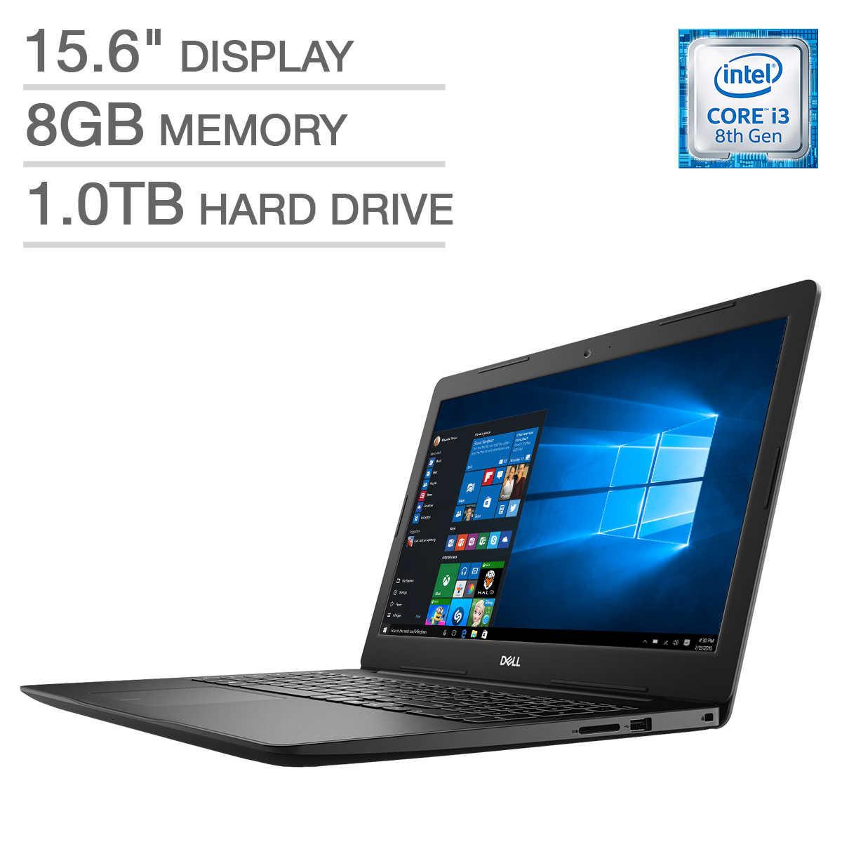 Dell Inspiron 15 3000 Laptop - Intel Core i3