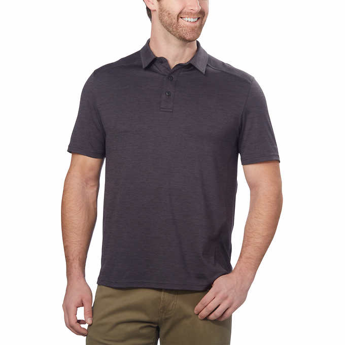 G.H. Bass & Co Men's Short Sleeve Polo