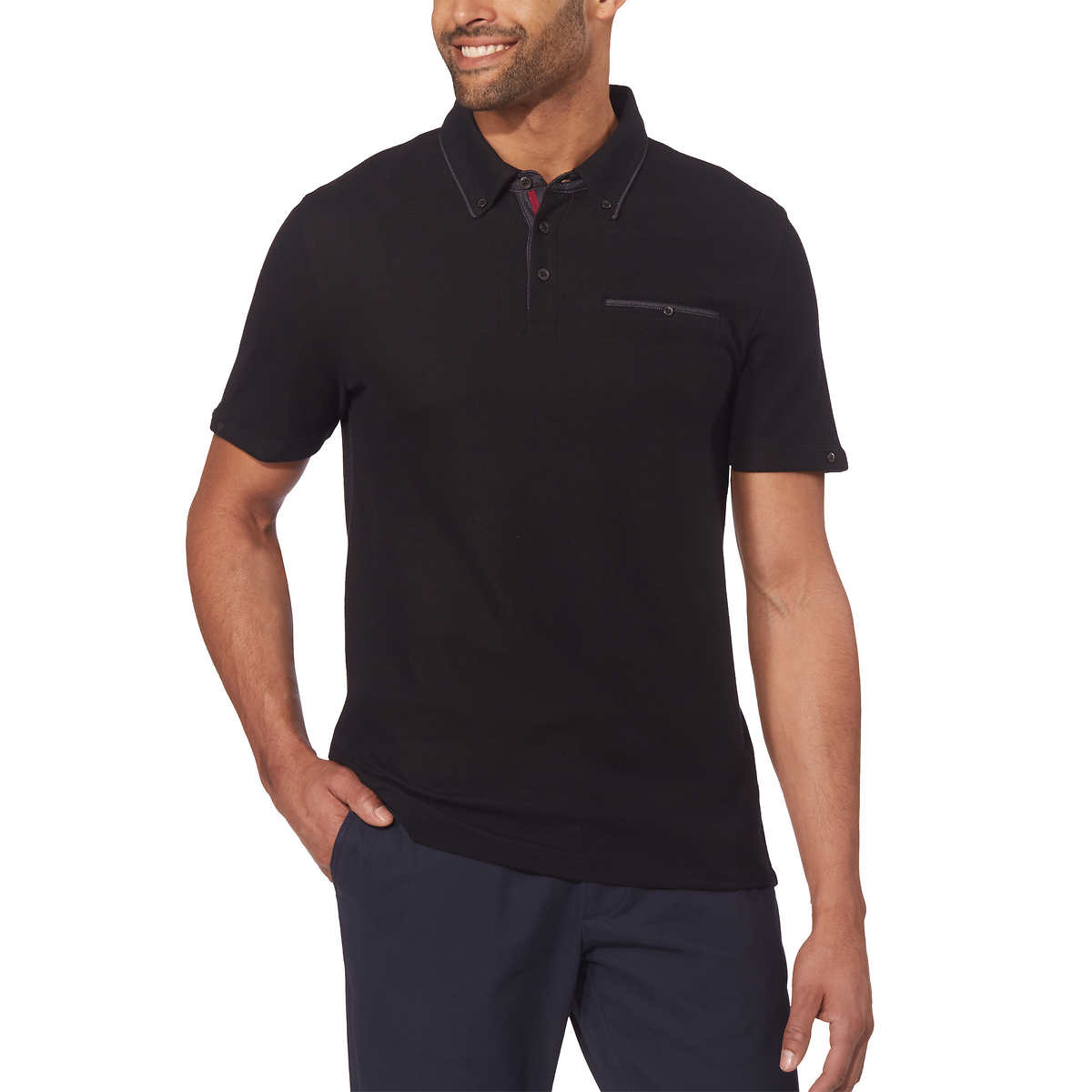 0bc6dfefde40 English Laundry Men's Short Sleeve Polo
