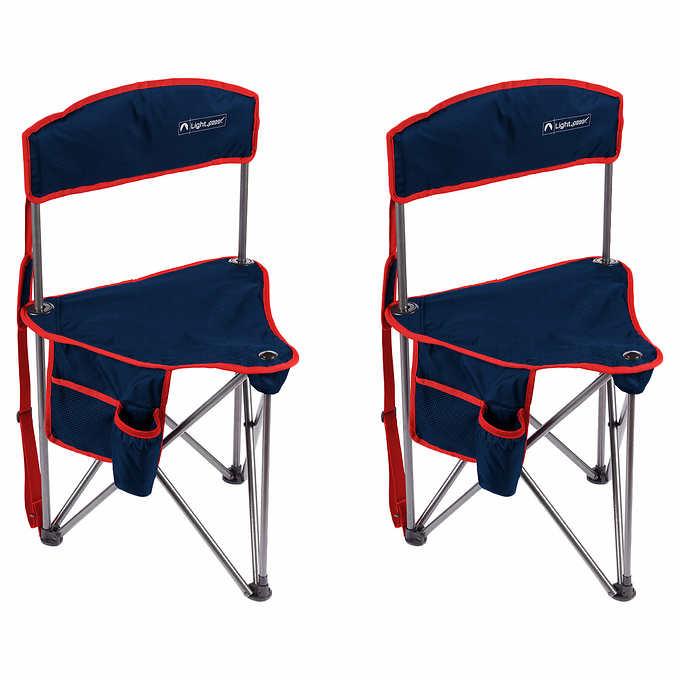 Fantastic Lightspeed Outdoors Tripod Chair 2 Pack Frankydiablos Diy Chair Ideas Frankydiabloscom