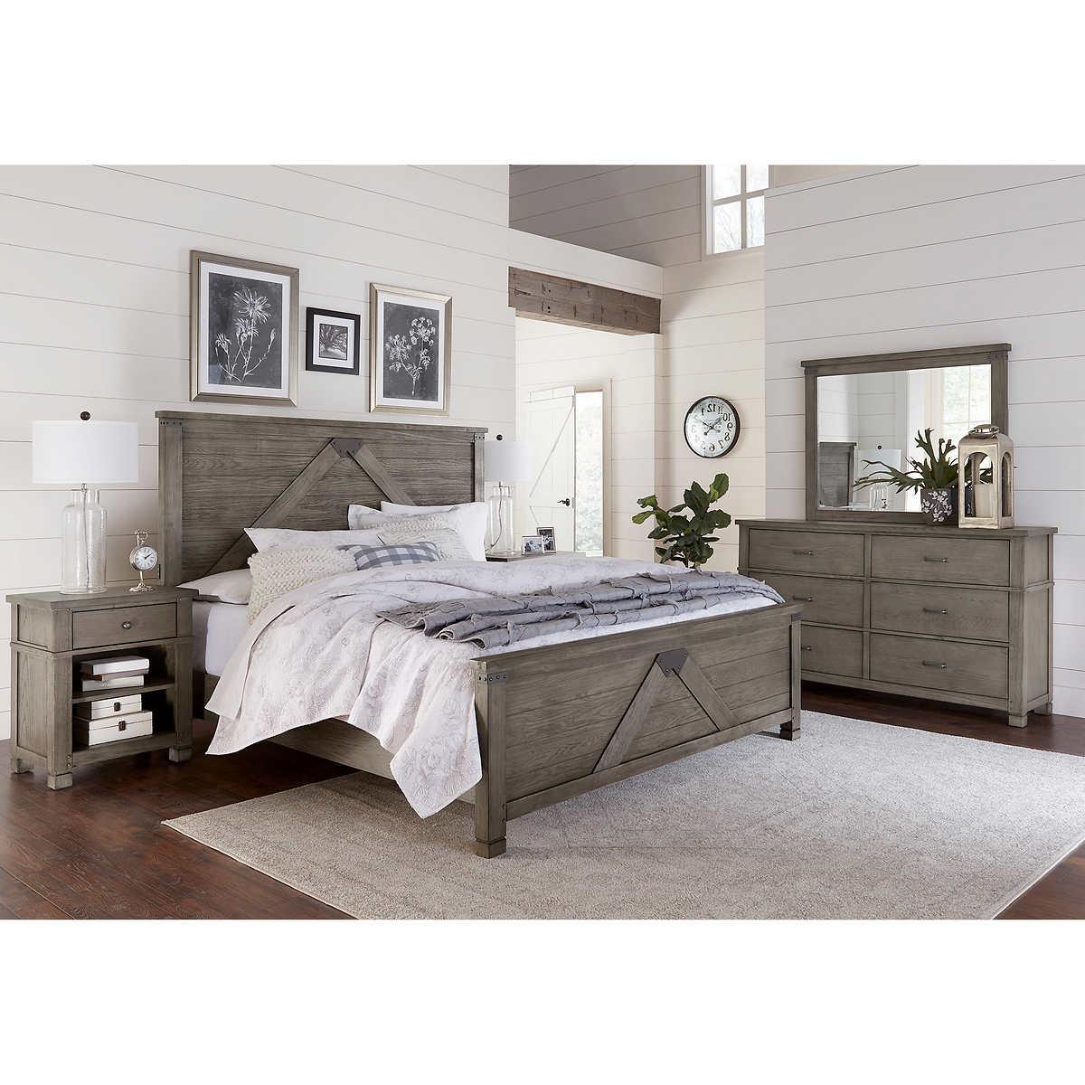 East Lake 5-piece King Bedroom Set