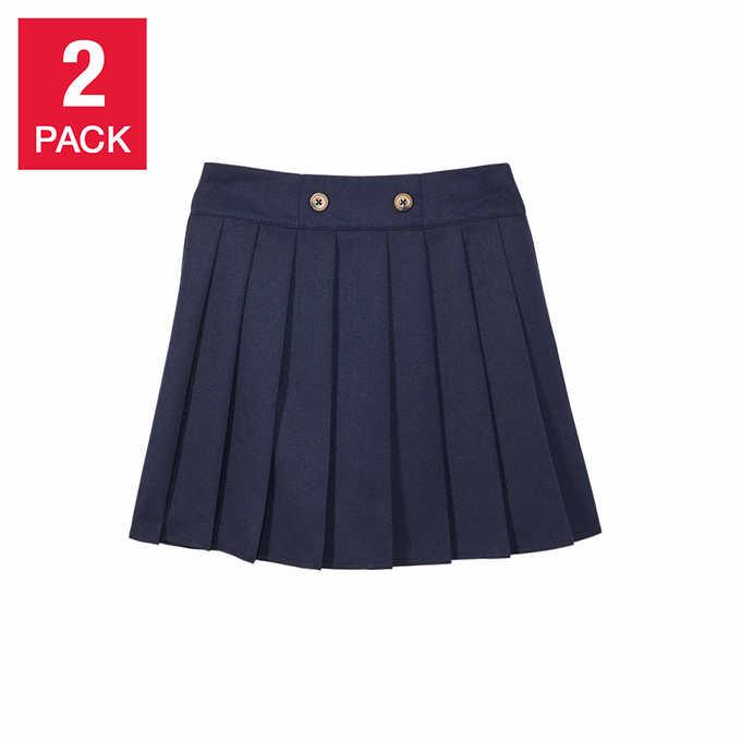 92b964ba2 ... French Toast Girls' School Uniform Skort, 2-pack. blue 1 blue 1