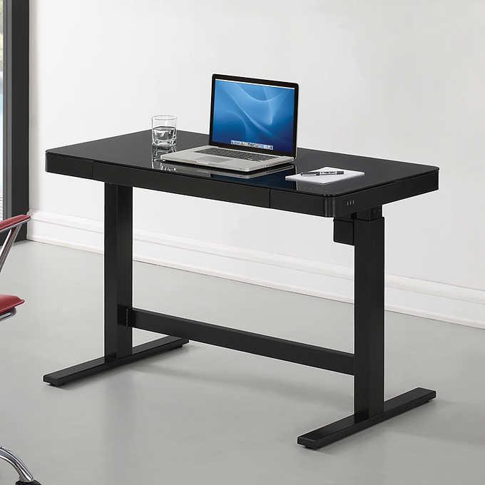 Astonishing Tresanti Adjustable Height Desk Ibusinesslaw Wood Chair Design Ideas Ibusinesslaworg