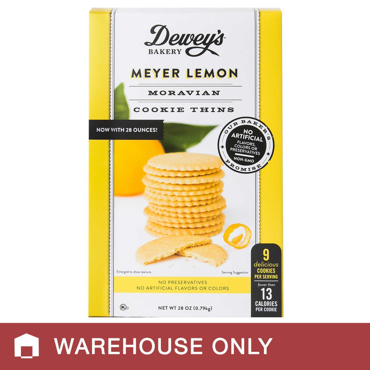 Dewey's Bakery Meyer Lemon Cookie, 28 oz