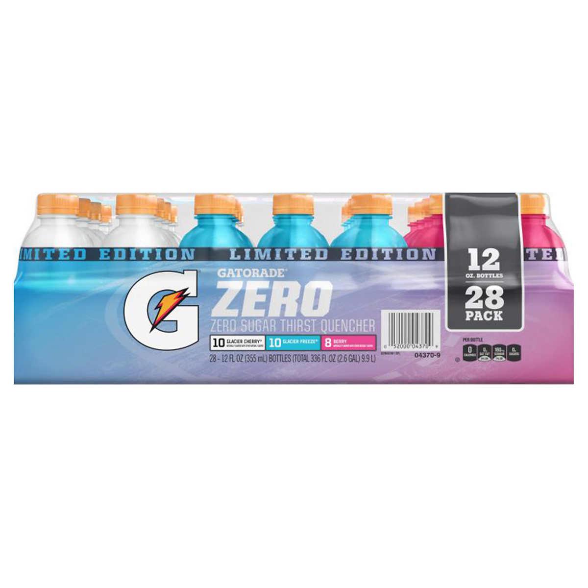 276b4b0ac1f22 Gatorade Zero, Variety Pack, 12 fl oz, 28-count