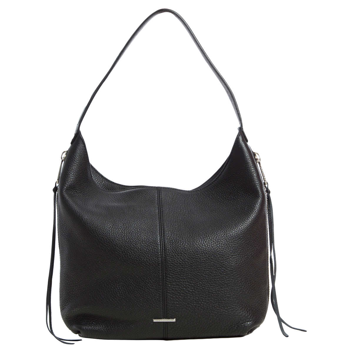 4fb4c1b73 ... Rebecca Minkoff Medium Bryn Double Zip Hobo Bag, Black. 1 1