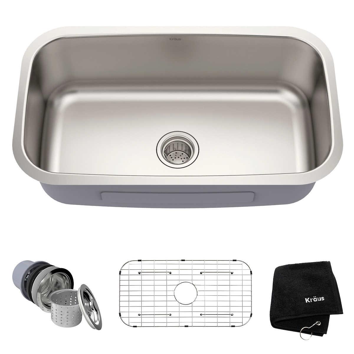 Kraus Stainless Steel Kitchen Sink