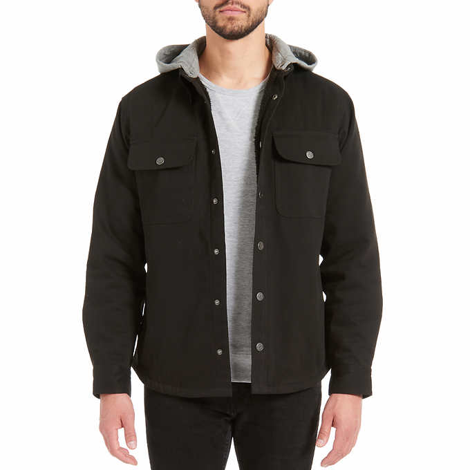 on wholesale wide selection of colors sophisticated technologies Jachs Men's Sherpa Lined Canvas Shirt Jacket