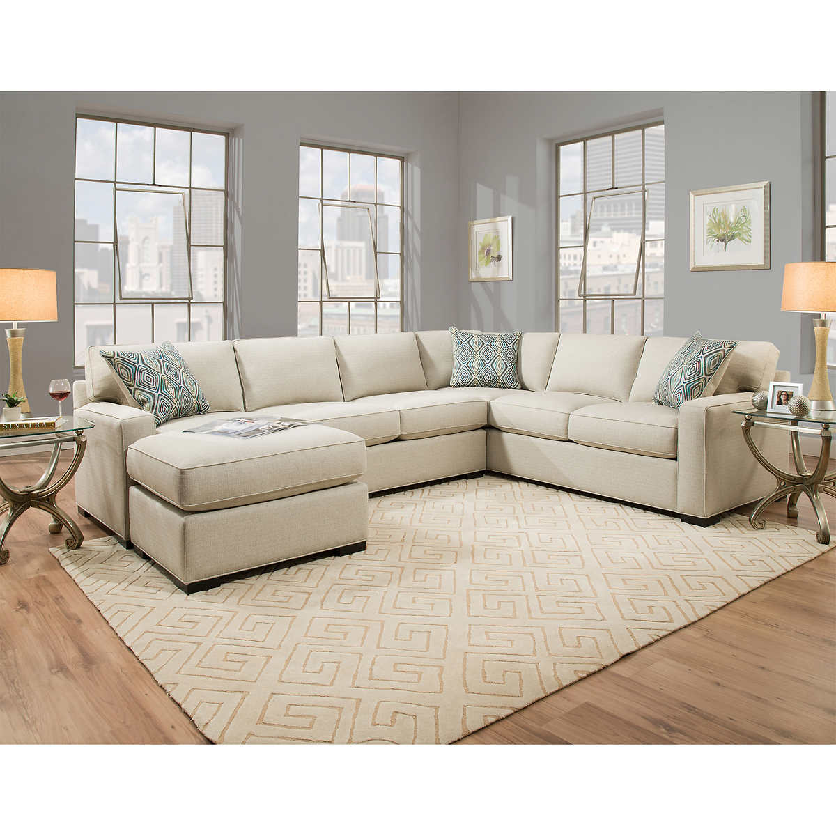 Rosemont Fabric Sectional