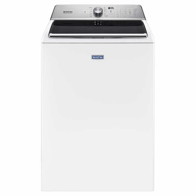Best Top Load Washer With Agitator 2020.Maytag 5 2cuft Top Load Washer With Deep Fill Option