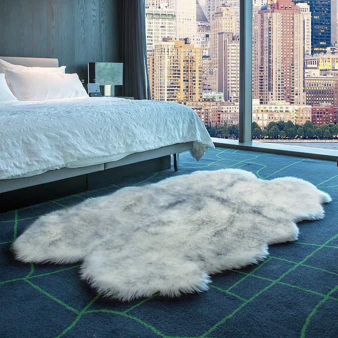 Brilliant Quad Sheepskin Rug Inzonedesignstudio Interior Chair Design Inzonedesignstudiocom