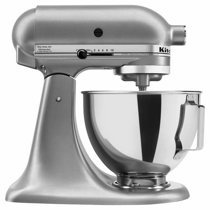 KitchenAid 4.5-qt 300W Tilt-Head Stand Mixer with Flex Edge