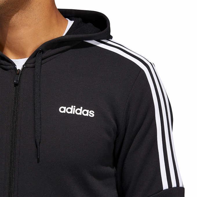 adidas Men's French Terry Full Zip Sweatshirt