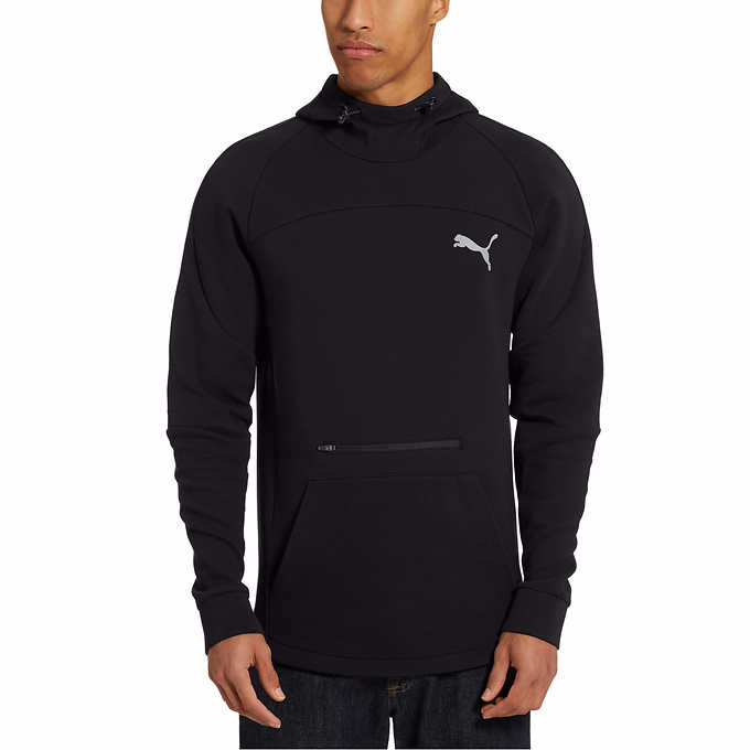 Puma Mens Vent Fleece Jacket Sweatshirts Fitness Clothing