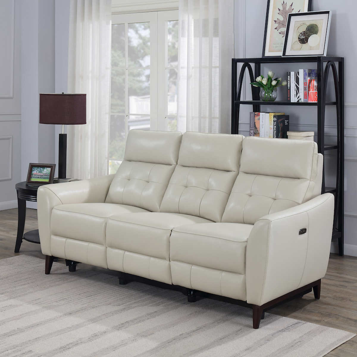 Timmons Leather Power Reclining Sofa