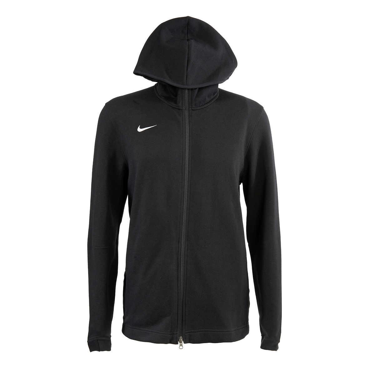 nike hoodie mens black