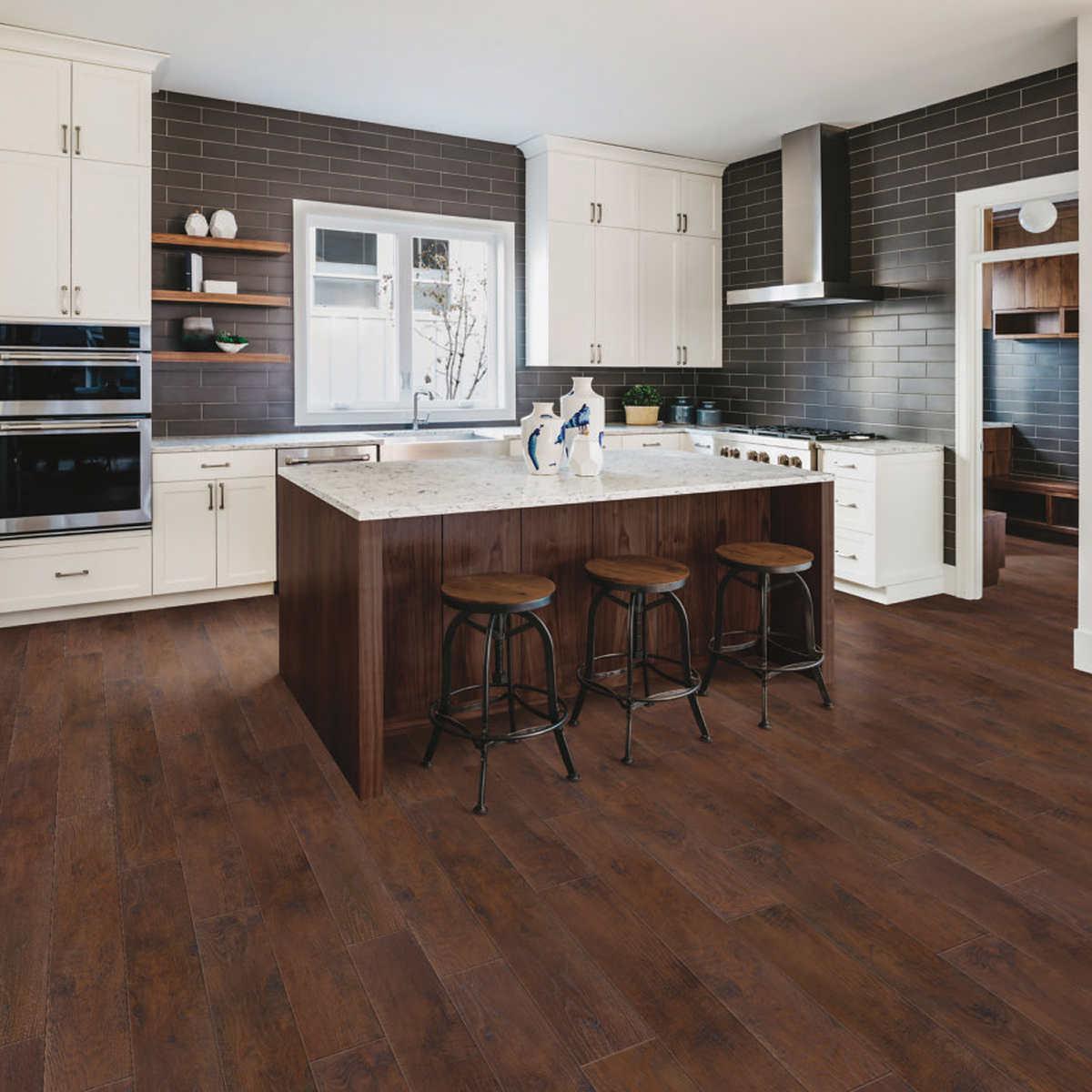 Mohawk Home Rustic Spiced Oak Laminate Flooring