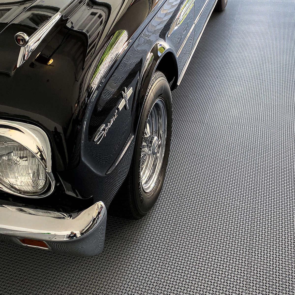 Self Draining Garage Floor Tiles