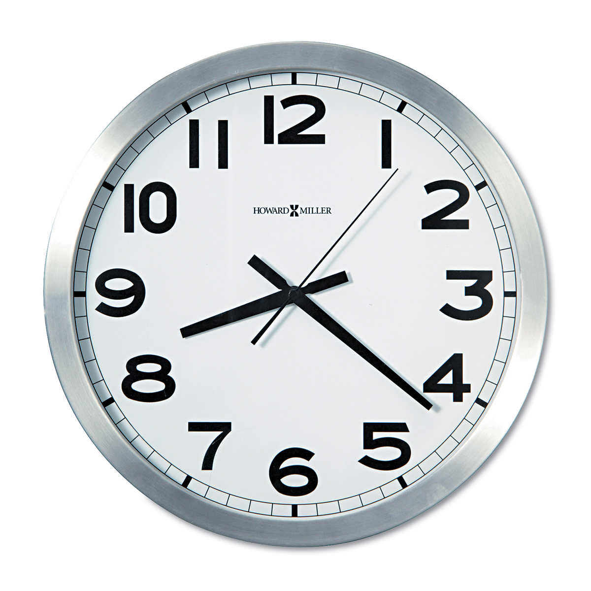 Howard miller 15 34 round wall clock click to zoom amipublicfo Choice Image