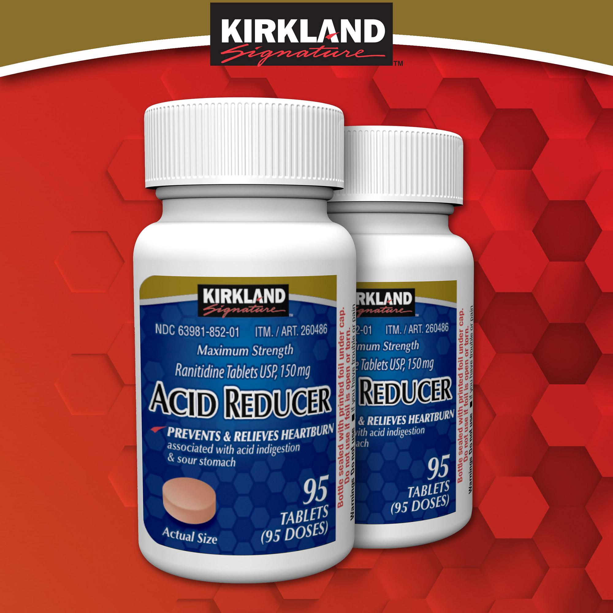 Kirkland Signature Acid Reducer, 190 Tablets